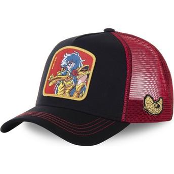 Gorra trucker negra y roja Piscis PIS Saint Seiya: Los Caballeros del Zodiaco de Capslab