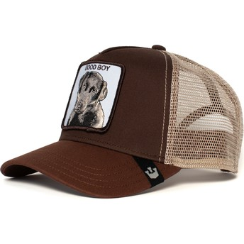 Gorra trucker marrón perro Sweet Chocolate de Goorin Bros.
