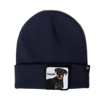 Gorro azul marino perro rottweiler Tough Dog de Goorin Bros.