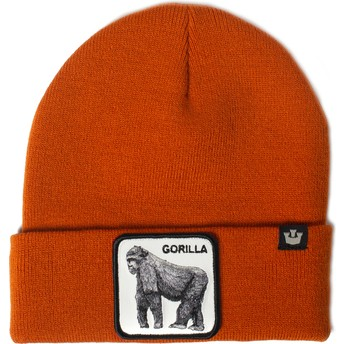 Gorro naranja gorila Beast Mode de Goorin Bros.