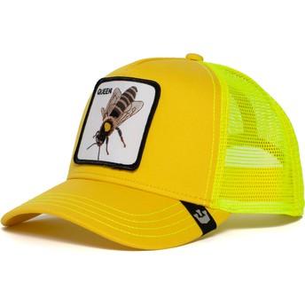 Gorra trucker amarilla abeja Queen Bee de Goorin Bros.