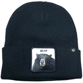 Gorro negro oso Cave Boy de Goorin Bros.
