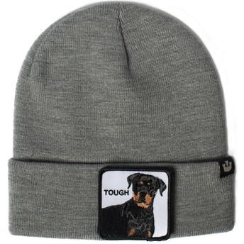 Gorro gris perro rottweiler Tough Dog de Goorin Bros.