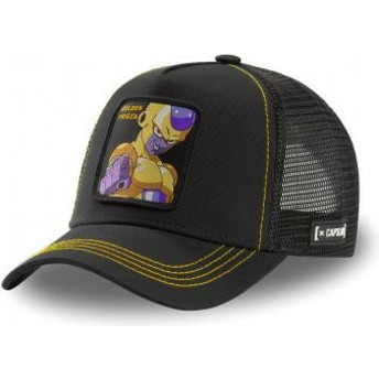 Gorra trucker negra Golden Frieza FRI3 Dragon Ball de Capslab
