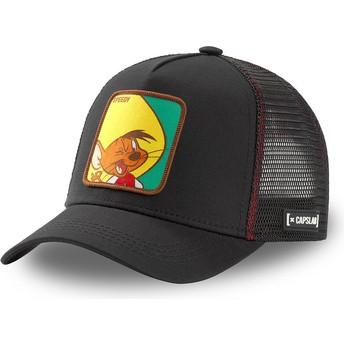 Gorra trucker negra Speedy Gonzales GON2 Looney Tunes de Capslab