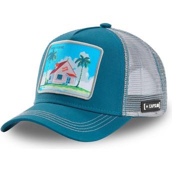 Gorra trucker azul y gris Kame House HOU3 Dragon Ball de Capslab