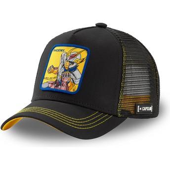 Gorra trucker negra Ikki de Fénix PHO3 Saint Seiya: Los Caballeros del Zodiaco de Capslab