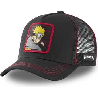 Gorra trucker negra Naruto Uzumaki NAR2 Naruto de Capslab