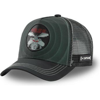 Gorra trucker negra Coyote Bullseye Color Rings WIL2 Looney Tunes de Capslab