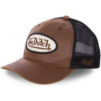 Gorra trucker marrón y negra PETE de Von Dutch