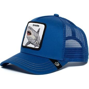 Gorra trucker azul tiburón Chomp Chomp de Goorin Bros.
