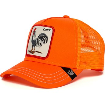 Gorra trucker naranja gallo Hot Male de Goorin Bros.