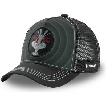 Gorra trucker negra Bugs Bunny Bullseye Color Rings LOO BUG2 Looney Tunes de Capslab