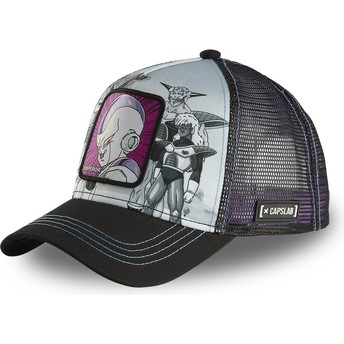 Gorra trucker gris y negra Frieza ARM CL Dragon Ball de Capslab