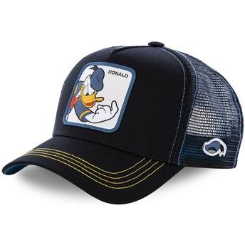 Gorra trucker negra para niño Pato Donald KID_DON2 Disney de Capslab
