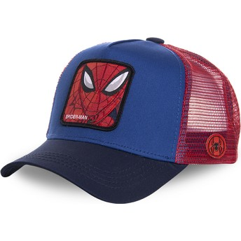 Gorra trucker azul y roja para niño Spider-Man KID_SPI1 Marvel Comics de Capslab