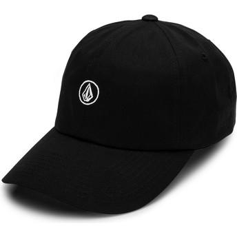 Gorra curva negra ajustable Circle Stone Black de Volcom
