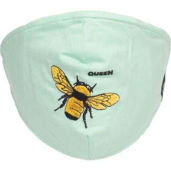 Mascarilla reutilizable verde menta abeja Buzzy Bee de Goorin Bros.