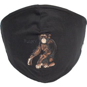 Mascarilla reutilizable negra mono Silly Monkey de Goorin Bros.