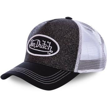 Gorra trucker negra y blanca WH2 de Von Dutch
