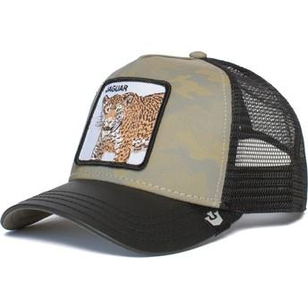 Gorra trucker camuflaje gris y negra jaguar Pride Boss de Goorin Bros.