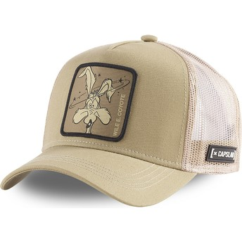 Gorra trucker marrón Coyote LOO COY1 Looney Tunes de Capslab