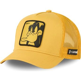 Gorra trucker amarilla Pato Lucas LOO DUF1 Looney Tunes de Capslab