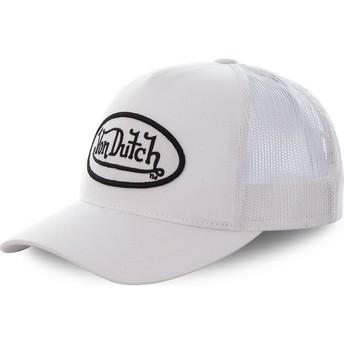 Gorra trucker blanca COL WHI de Von Dutch