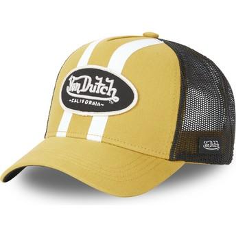 Gorra trucker amarilla STRI M de Von Dutch