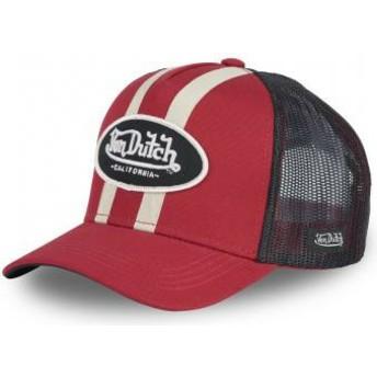 Gorra trucker roja STRI R de Von Dutch