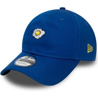 Gorra curva azul ajustable 9TWENTY Food Huevo Frito de New Era