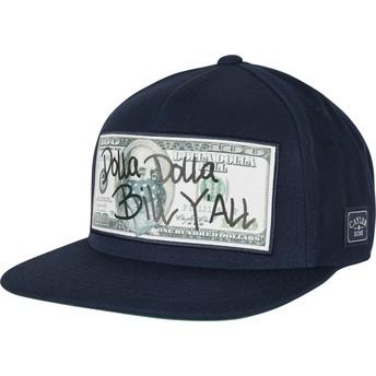 Gorra plana azul marino snapback WL Dolla Billy de Cayler & Sons