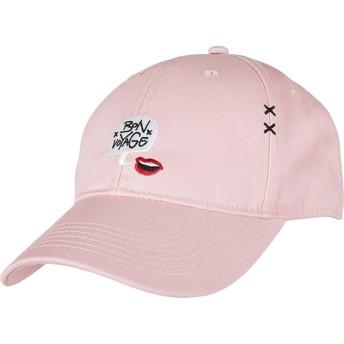 Gorra curva rosa ajustable WL Boubld Voyage de Cayler & Sons