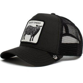 Gorra trucker negra oveja Be Reckless de Goorin Bros.