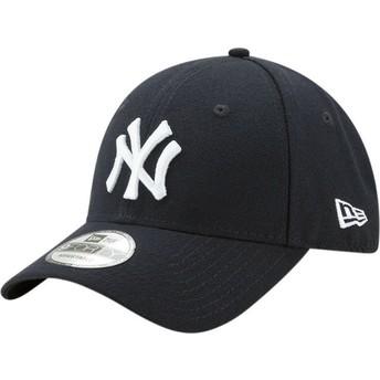 Gorra curva azul marino ajustable 9FORTY The League de New York Yankees MLB de New Era