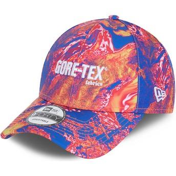 Gorra curva rosa ajustable 9FORTY Gore-Tex de New Era