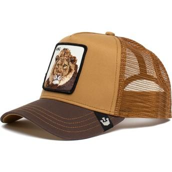 Gorra trucker marrón león King Mane Man The Farm de Goorin Bros.