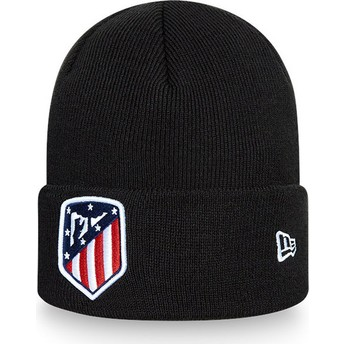 Gorro negro Cuff Knit de Atlético de Madrid LFP de New Era