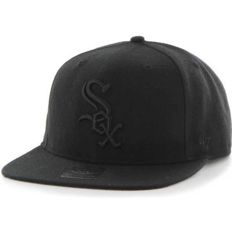 Gorra trucker negra con logo negro de Chicago White Sox MLB MVP Branson de 47 Brand tlJmEYg