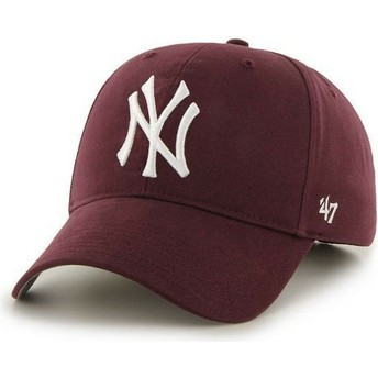Gorra curva granate de New York Yankees MLB de 47 Brand