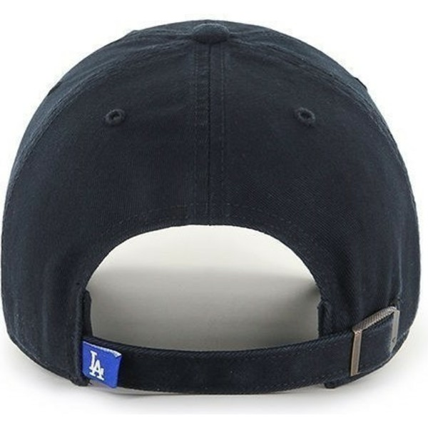 gorra-curva-negra-de-los-angeles-dodgers-mlb-clean-up-de-47-brand