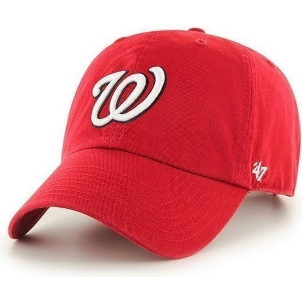 gorra-curva-roja-de-washington-nationals-mlb-clean-up-de-47-brand