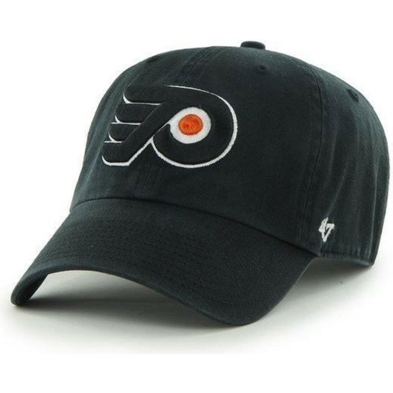 gorra-curva-negra-de-philadelphia-flyers-nhl-clean-up-de-47-brand