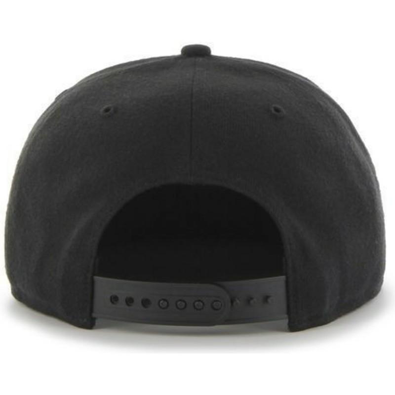 36974b92a2182 ... gorra-plana-negra-snapback-lisa-de-nhl-boston-. Siguiente. 47 Brand