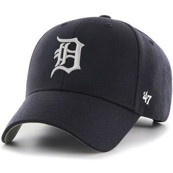 Gorra visera curva azul marino lisa de MLB Detroit Tigers de 47 Brand