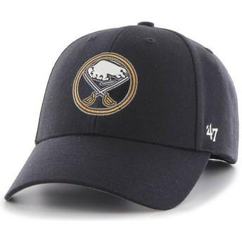 Gorra visera curva azul marino de NHL Buffalo Sabres de 47 Brand