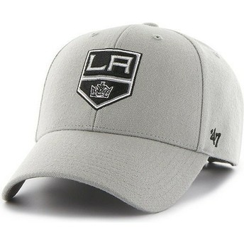 Gorra visera curva gris de NHL Los Angeles Kings de 47 Brand