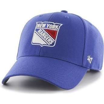 Gorra visera curva azul de NHL New York Rangers de 47 Brand