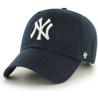 Gorra curva azul marino para niño de New York Yankees MLB de 47 Brand
