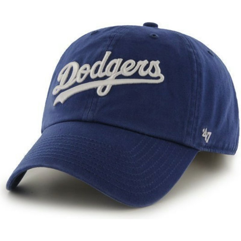 gorra-curva-azul-con-logo-de-letras-de-los-angeles-dodgers-mlb-clean-up-de-47-brand